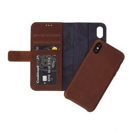 Decoded Leather 2in1 Wallet Case Brown iPhone X