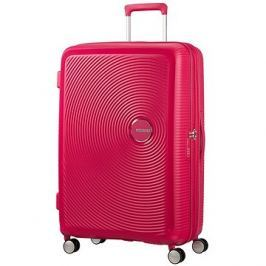 American Tourister Soundbox Spinner 77 Exp Lightning Pink